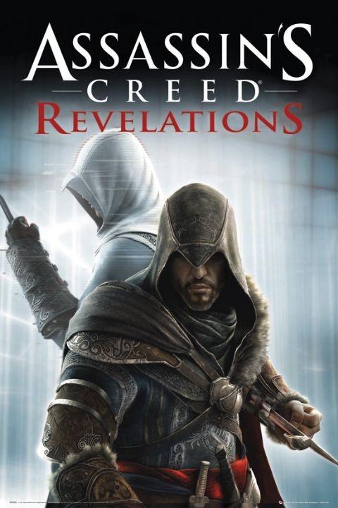 Plakat Assassin's creed Relevations - knives