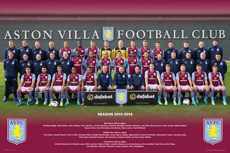 Plakat Aston Villa FC - Team Photo 13/14