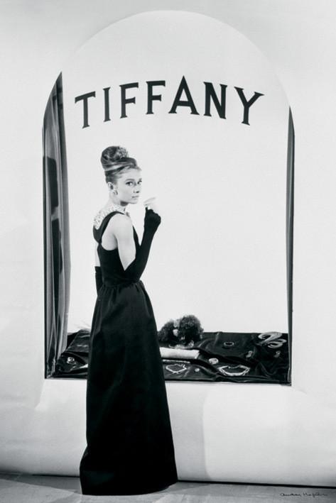 Plakat Audrey Hepburn - tiffany