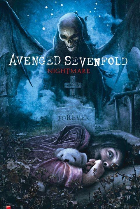 Plakat Avenged Sevenfold - nightmare