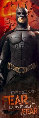 Plakat BATMAN BEGINS - fear
