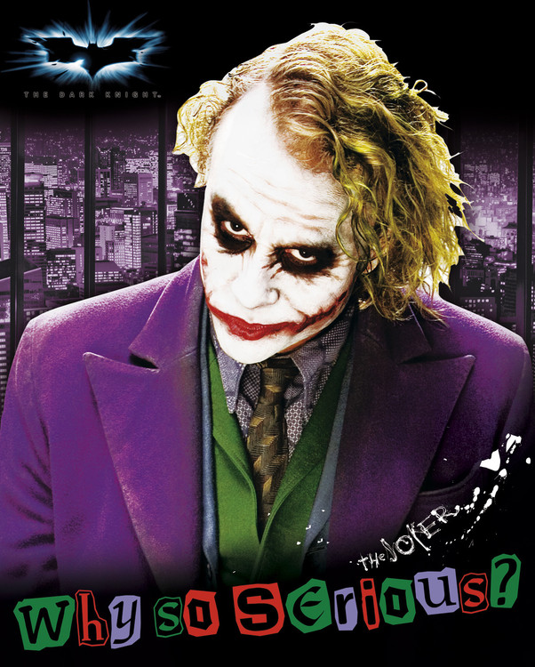 Plakat BATMAN - joker solo