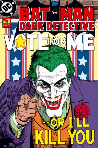 Plakat BATMAN - joker vote for me
