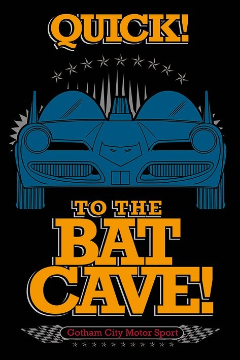 Plakat Batman - To The Bat Cave