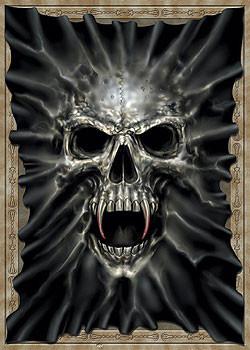 Plakat Beast within - skull