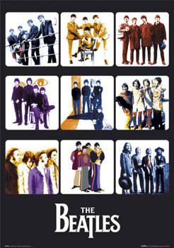 Plakat Beatles - through years II.