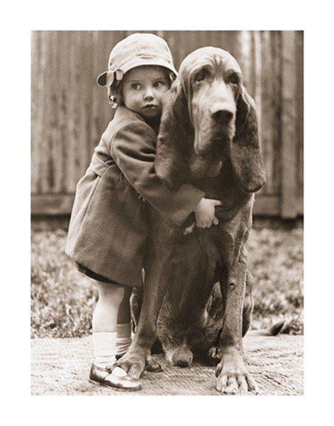 Plakat Best friends - a hug