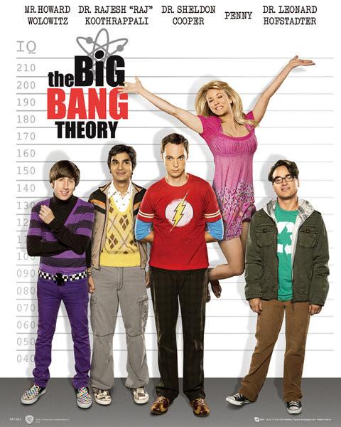 Plakat BIG BANG THEORY - line up