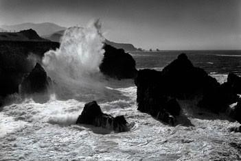 Plakat Big sur coastline – california