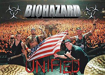 Plakat Biohazard – crowd