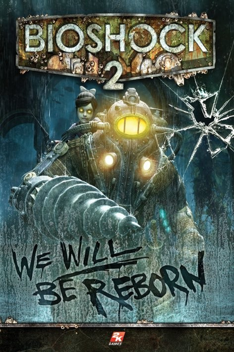 Plakat Bioshock 2 - we will be reborn