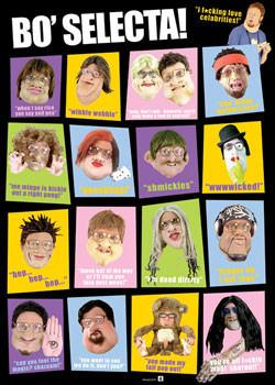 Plakat Bo' Selecta! - Characters