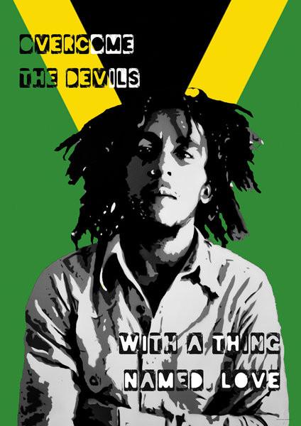 Plakat Bob Marley - Collage