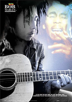 Plakat Bob Marley - guitar new