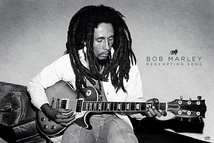 Plakat Bob Marley - Redemption Song