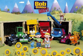 Plakat BOB THE BUILDER - sunflowers