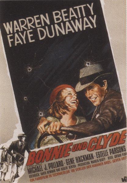 Plakat Bonnie i Clyde - Faye Dunaway, Warren Beaty