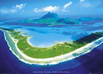 Plakat Bora Bora