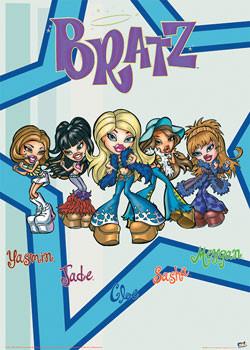 Plakat BRATZ - Five
