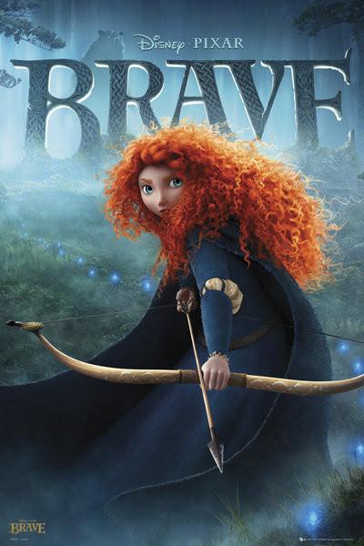 Plakat BRAVE - teaser