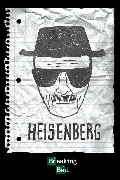 Plakat BREAKING BAD - heisenberg want