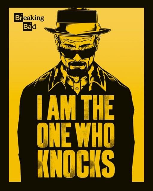Plakat Breaking Bad - I Am The One Who Knocks