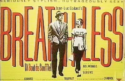 Plakat BREATHLESS - A bout de souffle