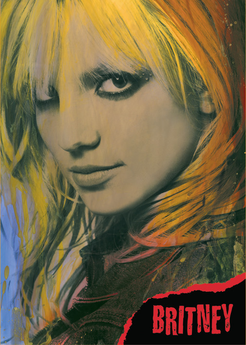Plakat Britney Spears Close-up
