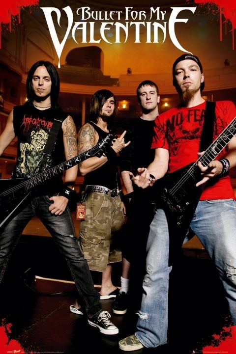 Plakat Bullet for my valentine - theatre