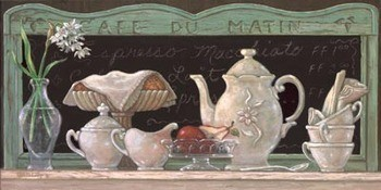 Reprodukcja Cafe Du Matin