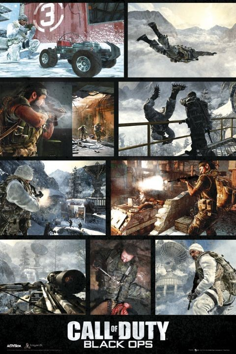 Plakat Call of Duty - black ops screen
