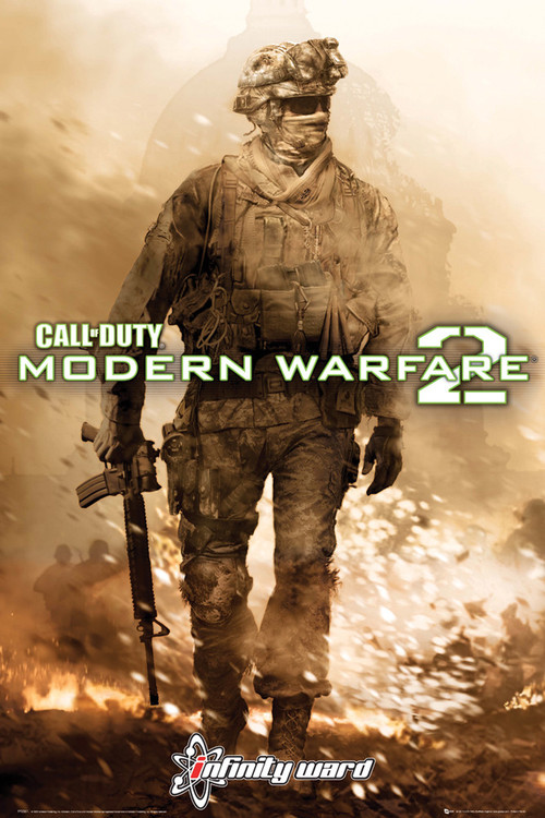 Plakat Call of Duty MW2 - cover
