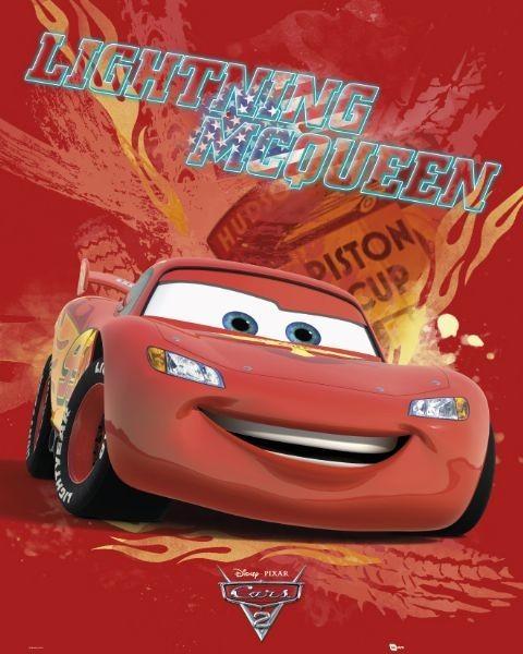 Plakat CARS 2 - lightning