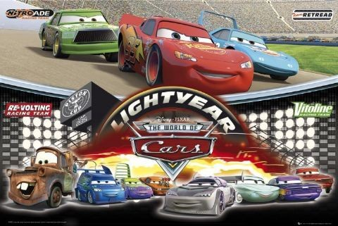Plakat CARS - world of