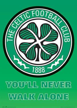 Plakat Celtic - club crest