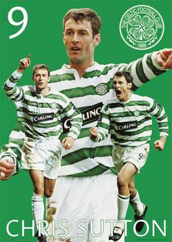 Plakat Celtic - Sutton