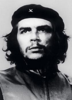Plakat Che Guevara - bw. foto