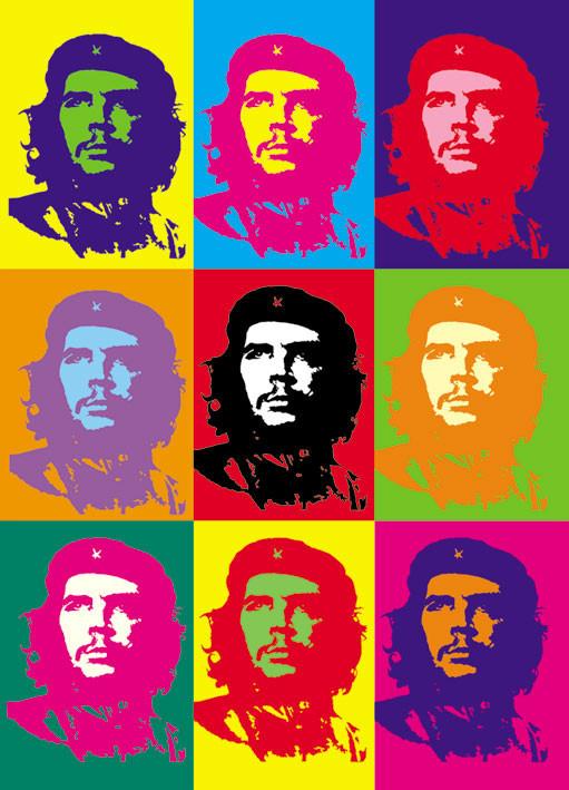 Plakat Che Guevara - pop art