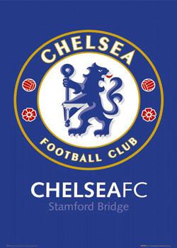 Plakat Chelsea - badge