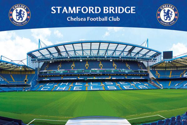 Plakat Chelsea FC - Stamford Bridge 13