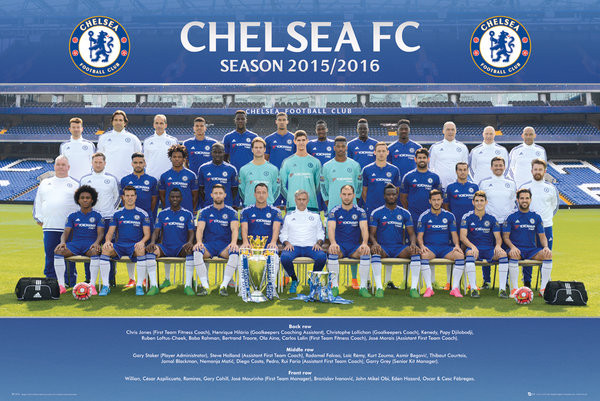 Plakat Chelsea FC - Team Photo 15/16
