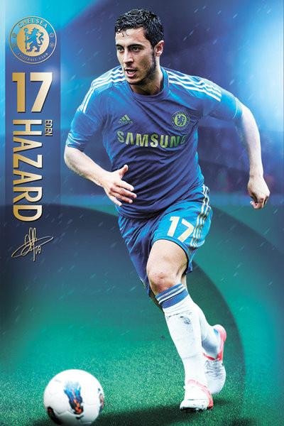 Plakat Chelsea - Hazard 12/13