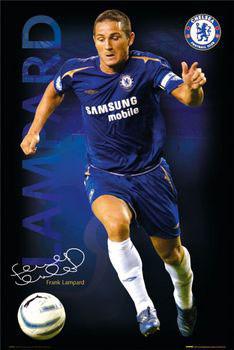 Plakat Chelsea - Lampard 05/06