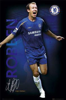 Plakat Chelsea - Robben 05/06