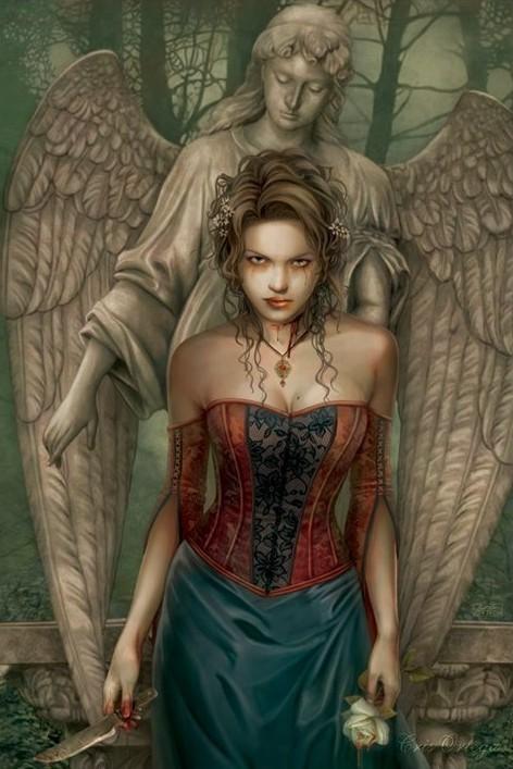 Plakat Chris Ortega - blood angel