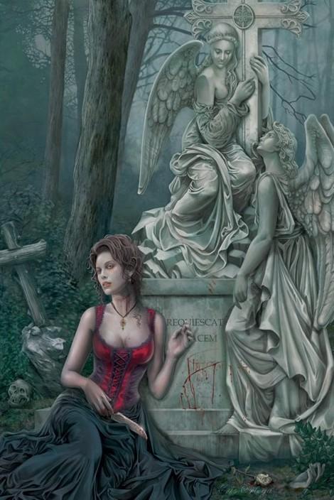 Plakat Chris Ortega - graveside