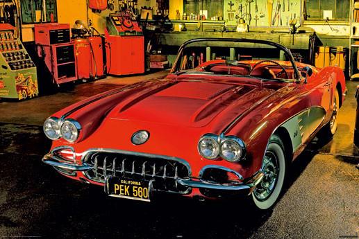 Plakat Classic car - 1958 chevrolet
