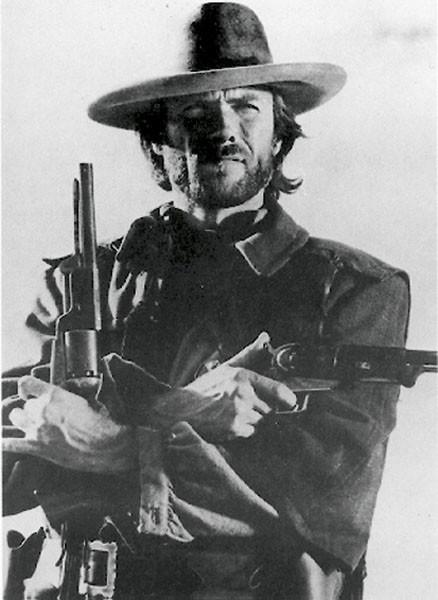 Plakat Clint Eastwood (B&W)