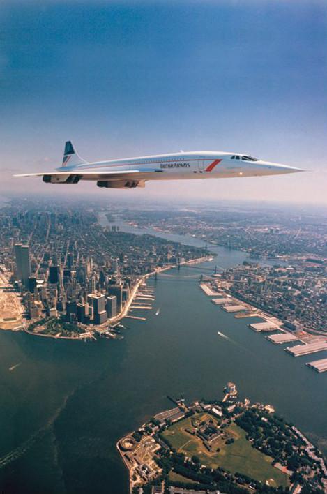 Plakat Concorde - NYC