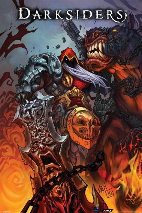 Plakat Daresiders - comicbook art